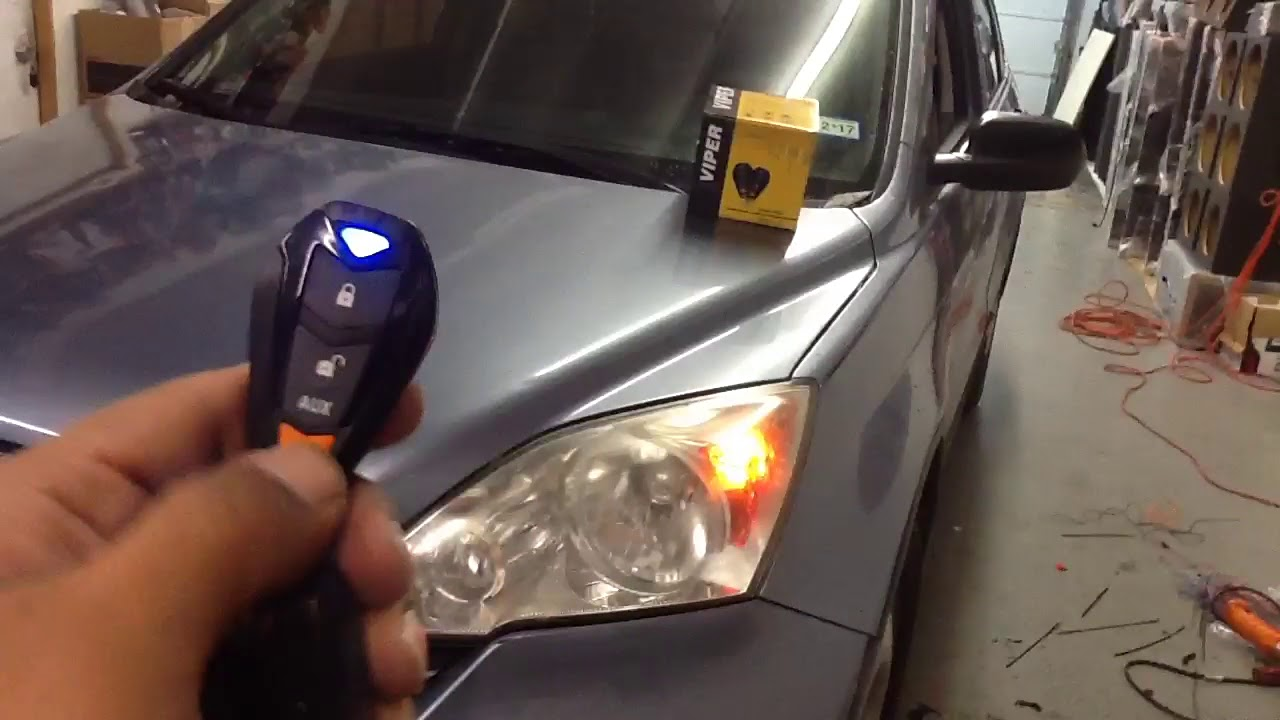 viper 5305v car alarm ceiling fan wiring diagram with capacitor 2009 honda cr v remote start youtube