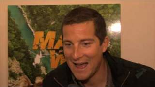 Bear Grylls talks about his game Man vs Wild!