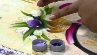 Pintura em tecido, tema bike love – Ana Laura Rodrigues PT2