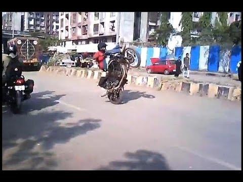 Bike motorcycle bullet pulsar honda stunt India 2013 - 2014