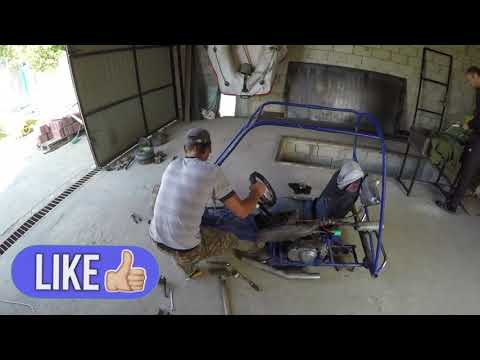 Build A Electric Go Kart At Home - How To Make An Electric Go Kart