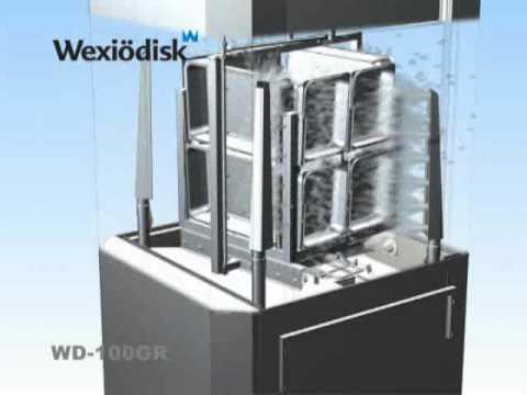 Animation grovdiskmaskin med granulat WD-100GR