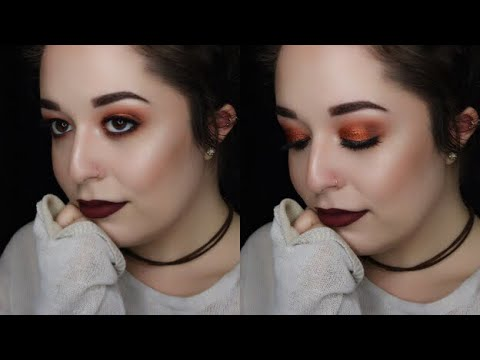 FALL PUMPKIN SPICE MAKEUP TUTORIAL