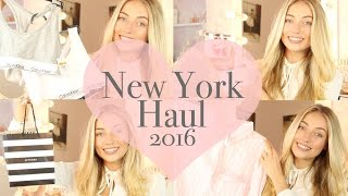 New York Haul 2016/ Calvin Klein, Victoria's Secret, Bath & Body Works, Sephora | Freddy My Love