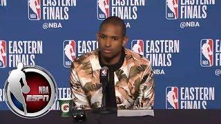 [FULL] Al Horford press conference after Celtics-Cavaliers Game 3   NBA on ESPN