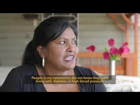 Australian Government's Fiji Community Development Program 'Community Health Workers'