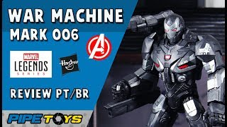 War Machine Mark 006 -  Avengers Endgame | Marvel Legends - Review PT/BR