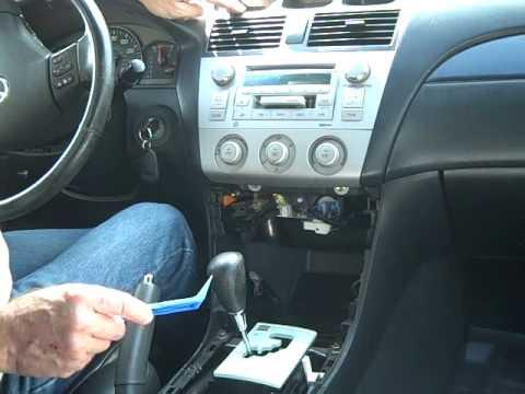 toyota solara car stereo removal  repair youtube