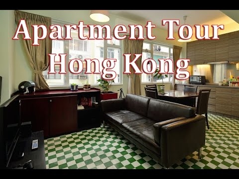 Apartment Tour in Soho District Hong Kong China