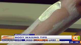 Power Interview: Body Waxing Tips