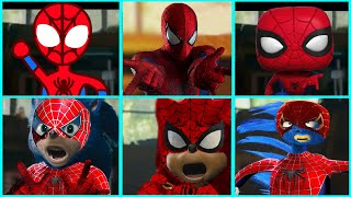 Sonic The Hedgehog Movie - Spider-Man Uh Meow All Designs Compilation 2