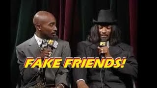 """Snoop Dogg Unfazed After News Of Tupac's Death   """"Got High n' Continued Recording Music"""""""