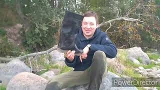 Рыбалка на реке Бурная 2019. Порог ''ПАДУНЕЦ''