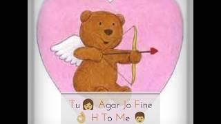 Romantic whatsapp status Tu online h me bhi online hu