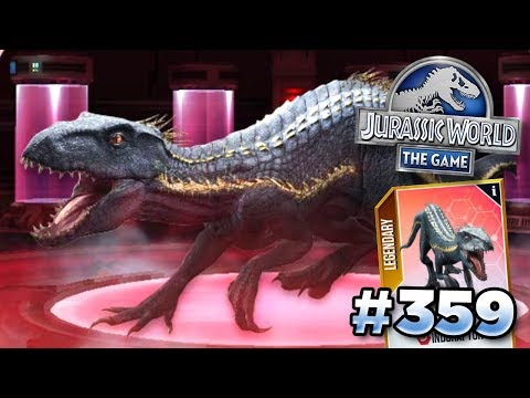 INDORAPTOR IS HERE!!! | Jurassic World - The Game - Ep359 HD