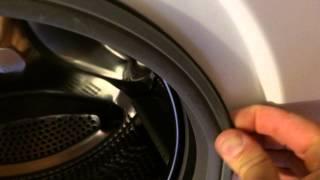 видео как поменять уплотнительную резинку на стиральной машине
