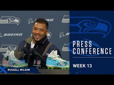 Seahawks Quarterback Russell Wilson Postgame Press Conference vs 49ers