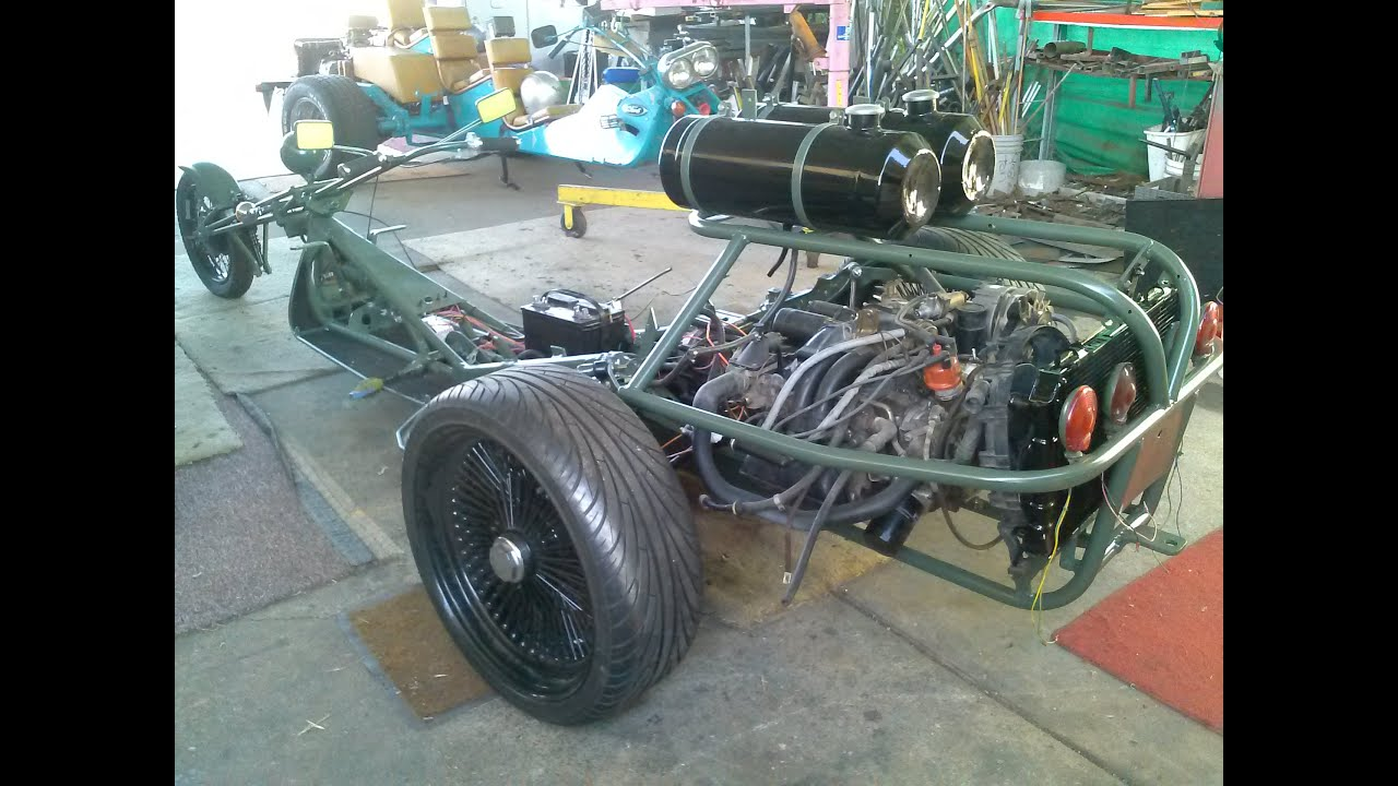 How To Make A Vw Trike Frame 1600cc Volkswagen Wiring Diagram Build 6 You