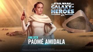 Star Wars: Galaxy of Heroes — Padmé Amidala's Hero Spotlight