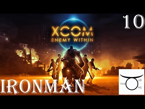 Let's play XCOM Enemy Within - Episode 10 - Laser weapons baby!