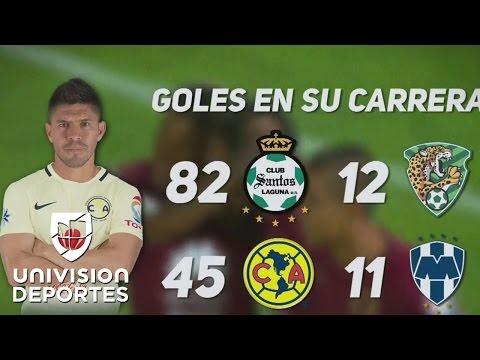 Los 150 goles de Oribe Peralta, la racha de Montes ante Tigres y más números de la fecha 15