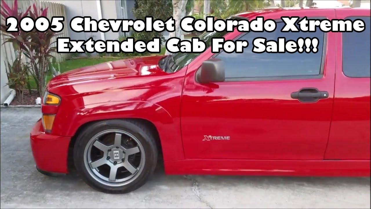 sold 2005 chevrolet colorado xtreme extended cab youtube. Black Bedroom Furniture Sets. Home Design Ideas