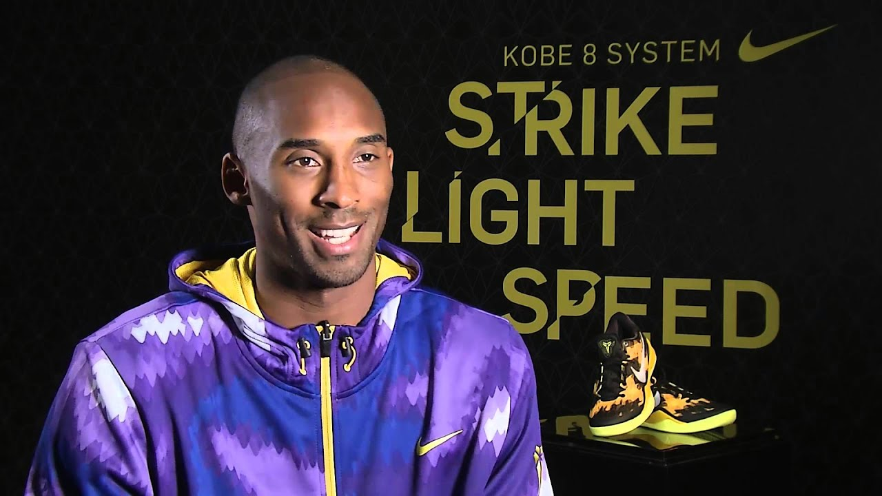 4fb5c08f4ac8 Nike Kobe 8 Interview With Kobe Bryant - YouTube