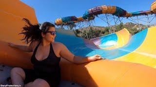 Walhalla Wave family raft (4K On-Ride) Aquatica Sa...