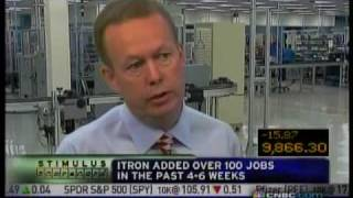 CNBC- Squawk on the Street with ITRON- 10.28.09