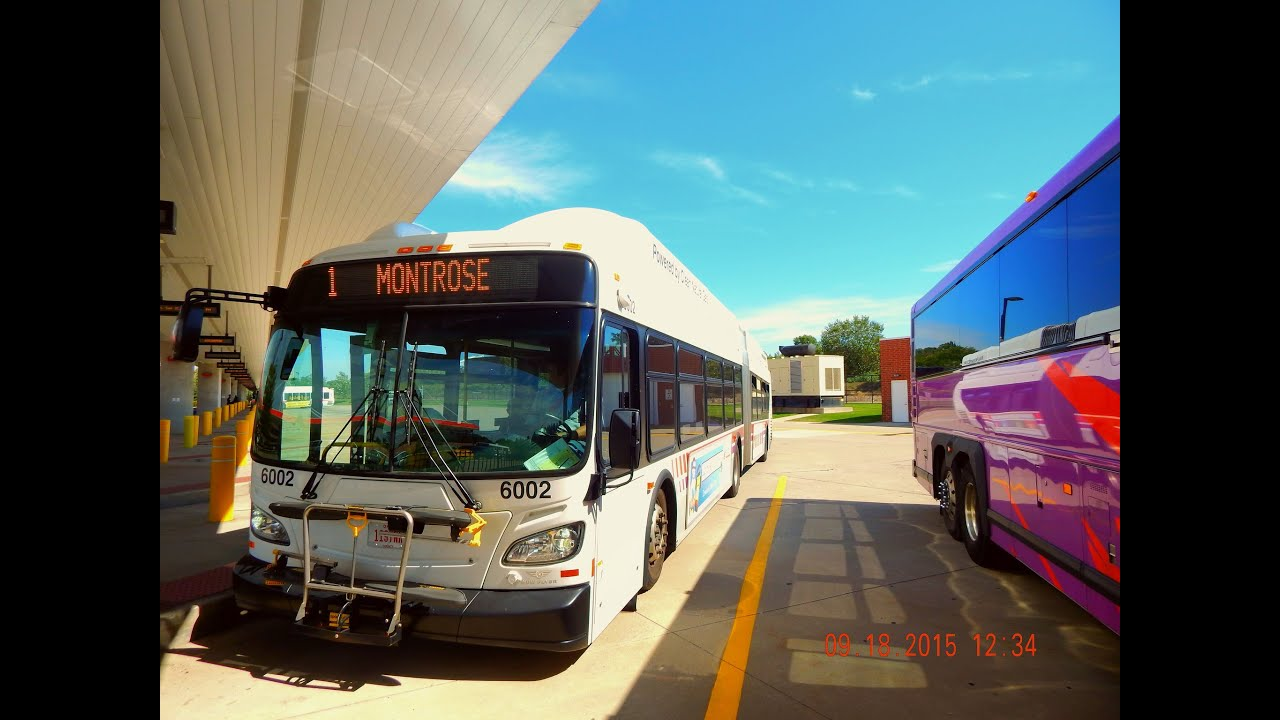 akron metro: 2013 new flyer xn60 - articulated (cng) #6002 ~ w
