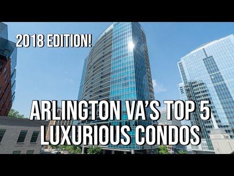 Arlington VA Top 5 LUXURY Condos That Sold In 2018