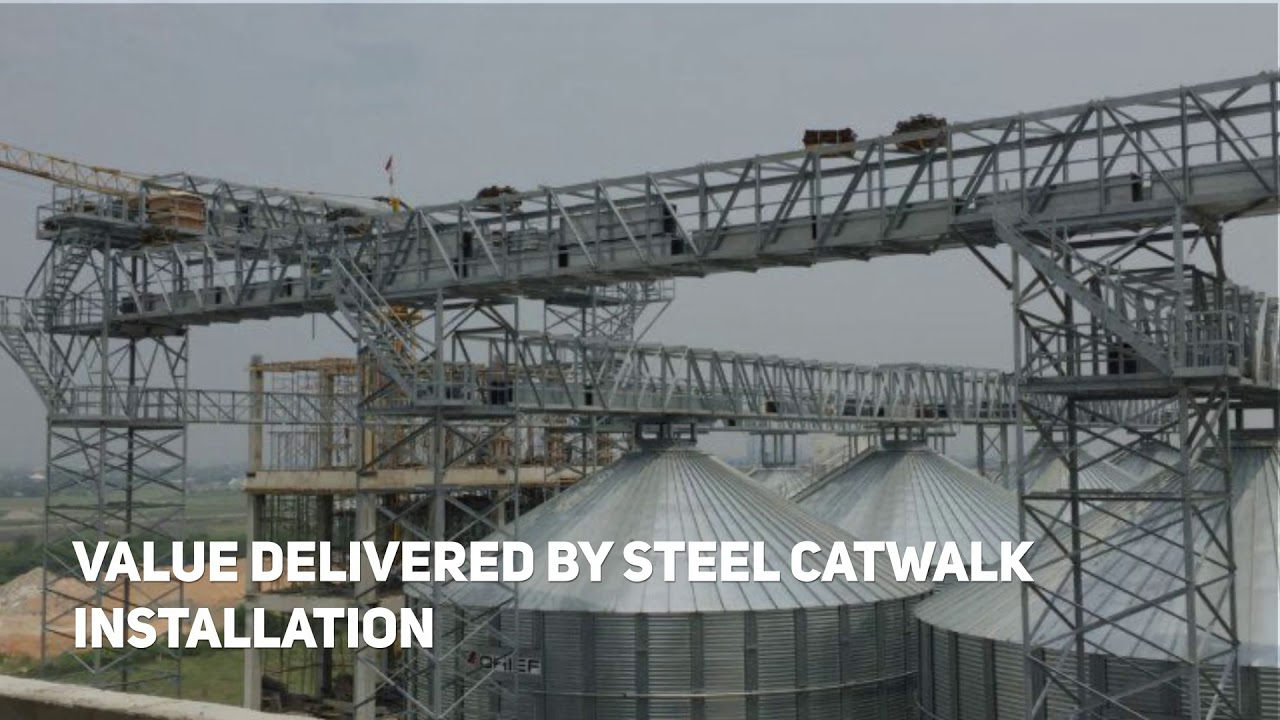 Steel Catwalks | Pittsburg Tank & Tower Group