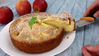 Шарлотка (пирог) с яблоками — простой классический пошаговый рецепт в духовке