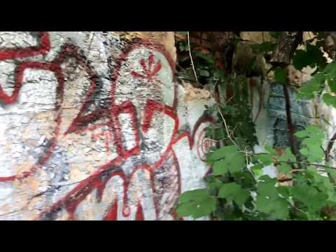 Super Scary Abandoned Buildings + Creepy Tunnels in the Woods - Asheville North Carolina