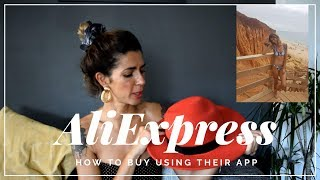 How to buy in AliExpress using their app | CLOTHING HAUL