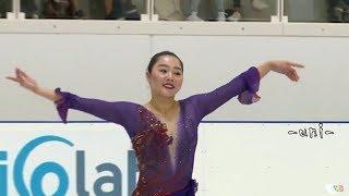 Wakaba HIGUCHI - FS - 樋口新葉 - 2019 Lombardia Trophy