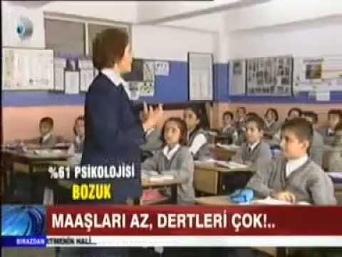 """Eğitim İş """"Öğretmenlerin gelirlerine ilişkin öğretmen görüşleri""""Anketi-Kanal D Ana Haber"""