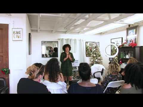 Naturally Beautiful Curl Class w/ Culture Hair Products - December 20 2017