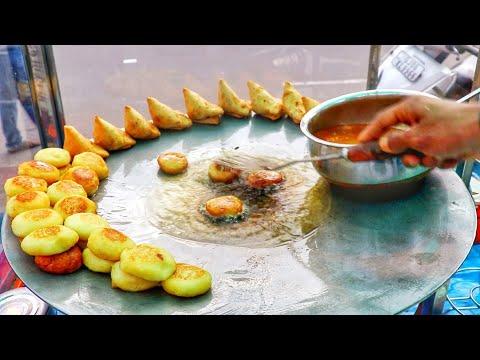 Delhi Chaat | Aloo Tikki | Papdi Chaat | Dahi Puri At One Place | Street Food Compilation