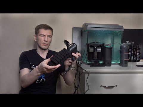 Выбор внутреннего фильтра для первого аквариума