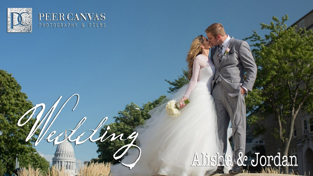 Downtown Madison Wedding Bishop\'s Bay | Alisha + Jordan by Peer ...