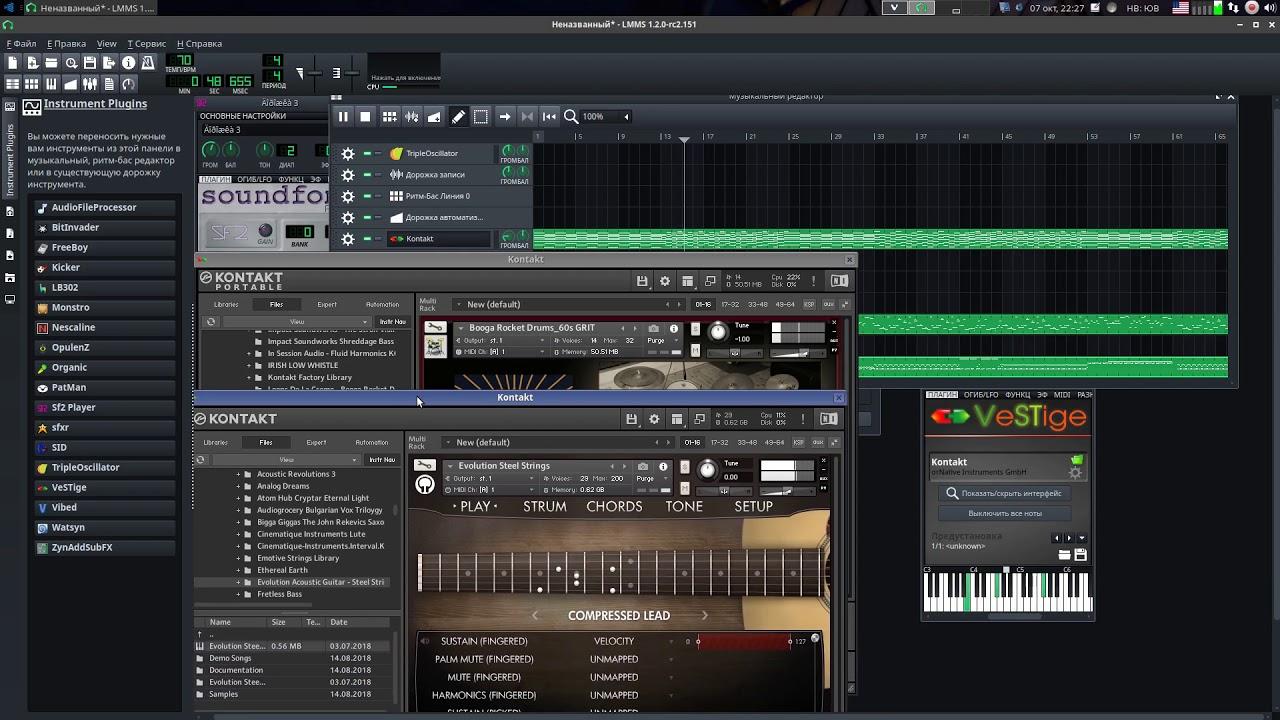Kontakt portable fl studio drum kits