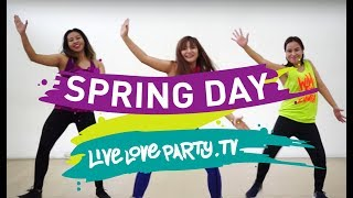 Spring Day by BTS | Live Love Party | Zumba | Dance Fitness | KPop