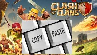 Como Copiar y Pegar Texto En Clash of Clans  | Clash of Clans