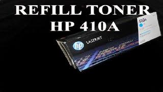 hp laserjet Cartridge refill HP CF410A