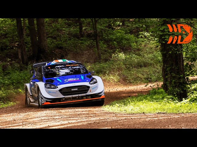 Extreme Slippery Conditions | Southern Ohio Forest Rally 2021