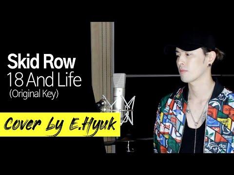 Skid Row  18 And Life Original Key  ed