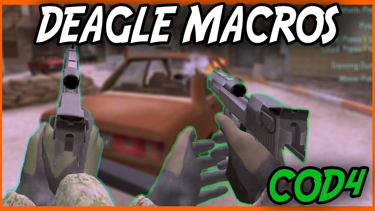 COD4 Deagle MACROS | Fasr Fire Deagle Macros , Bind , Script | The Malik  Show