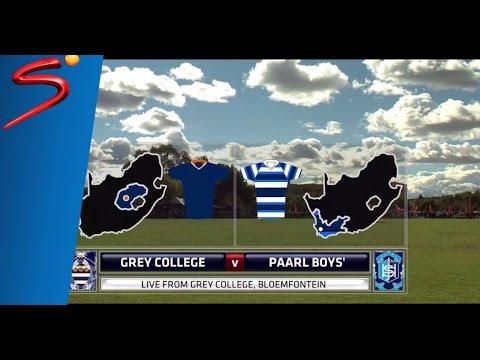 Premier Interschools Rugby - Grey College vs Paarl Boys' High - 1st Half