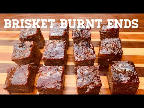 Brisket Burnt Ends | Smoked Beef Brisket on Gateway Drum